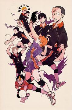Haikyuu!! • Волейбол