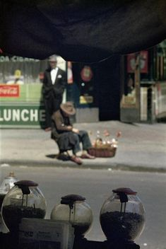 Saul Leiter's 1950s New York in colour