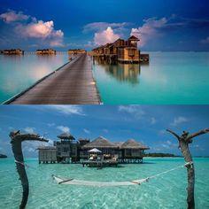We thought you would like these views @gili.lankanfushi @gililankanfushi #honeymoon #maldives #destinationwedding