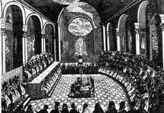 This Day in History: Aug Pope Clement V pardons Jacques de Molay, the last Grand Master of the Knights Templar Middle Ages Church, Reformation In Europe, Council Of Trent, Ecumenical Council, Battle Of Lepanto, Protestant Reformation, Holy Roman Empire, Knights Templar, Temple