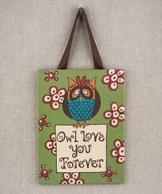 'Owl Love You Forever' Canvas