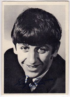 BEATLES 1ST SERIES 1964 VINTAGE TRADING CARD # 6