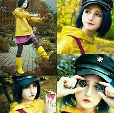Coraline cosplay