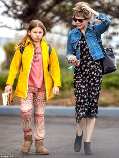 She's a great mom: Michelle Williams was seen taking daughter Matilda Ledger to school in New York City on Friday