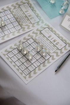 teal white garden: Wedding :: Bridal Shower Rochester