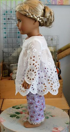 Pajamas for 18 Inch Doll C242