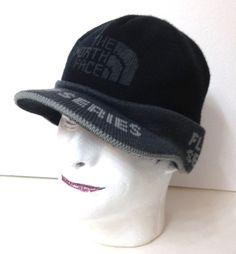 0616d131910b8 THE NORTH FACE FLIGHT SERIES VISOR BEANIE Black Gray Winter Knit Snowboard  Hat  Columbia  Beanie