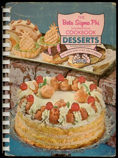 Easy Chocolate Fluff Pie, Easy Triple Treat Pudding, Funny Cake, French Chocolate Mint Pie - The Beta Sigma Phi International Cookbook, Desserts, 1968  http://www.amazon.com/gp/product/B000E1B004/ref=cm_sw_r_tw_myi?m=A3FJDCC1SFO8CE
