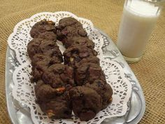 Black Forest Chocolate Chip Cookies Recipe