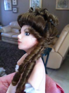 Another wig, getting easier Wigs, Miniatures, Dreadlocks, Hair Styles, Beauty, Hair Plait Styles, Hair Makeup, Hairdos, Haircut Styles