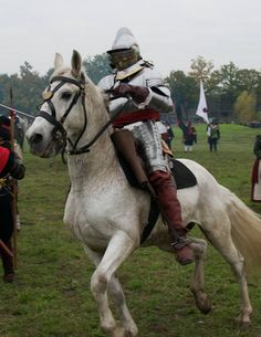 Cuirassier, battle of Grolle, 1627.  Click on image to ENLARGE.