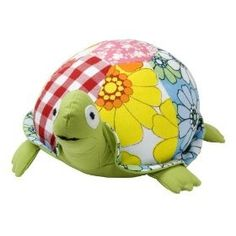 14f66f053 Buy Allen Ave Color Zoo Taylor the Turtle Stuffed Animal in Green Patchwork  (Allen Ave Childrens Furniture, Childrens Toys, Stuffed Animals)