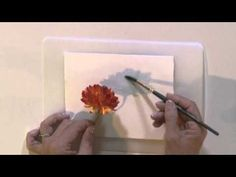 Watercolor for Beginners Tips for Shadow Painting with Jan Fabian Wallake - YouTube