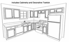 1000 images about kitchen ideas on pinterest kitchen for Kitchen cabinets 8x10