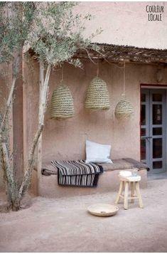 Maroc / Taking pictures dans l'Atlas pour Couleur locale / - Autos Online Interior Exterior, Interior Modern, Exterior Design, Interior Colors, Interior Paint, Room Interior, Outdoor Spaces, Outdoor Living, Outdoor Decor