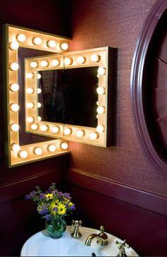 Marseille Corner Mirror Cabinet