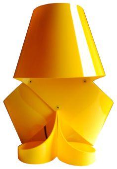 MISS MILLY VANITY, nylon table lamp by ZUUUM, design Samuele Santi