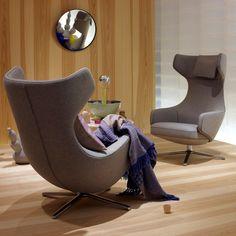 PureModern | Grand Repos Lounge Chair