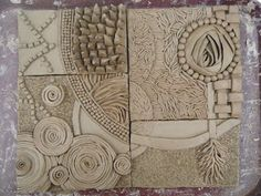 First Year Studio: Industrial Design. Tiles with great texture and design