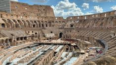 The Italian government is planning to add a retractable floor to the Colosseum amphitheatre in Rome so that performances can be held within the arena.