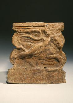 ROMAN TERRACOTTA ALTAR: THE RAPE OF EUROPA,1st century A.D.