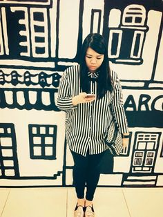 Cassandra  Ng - H&M Shirt, Miss Selfridge Bag, Aldo Shoes - Barcode.