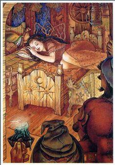 Snow White illustration by Erin Augenstine