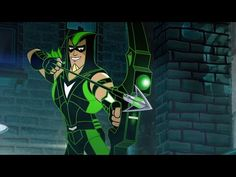 Futuristic Green Arrow And Black Canary Star In Three DC Nation Shorts