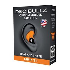 91 best ear plugs images on pinterest ear plugs earplug and plugs decibullz custom molded earplugs highest nrr comfortable hearing protection for shooting travel sleeping swimming work and concerts black ccuart Choice Image