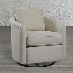 Swivel Glider or this in a different fabric