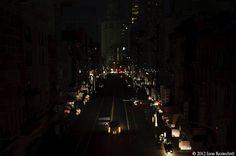 Lights Out Lower Manhattan: Hurricane Sandy by Jane Kratochvil