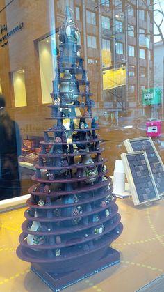 Arbol de Navidad de chocolate :)