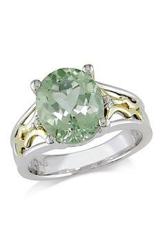 Pretty green amythest