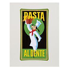 ''Pasta Goofy'' Art Print by Brian Blackmore
