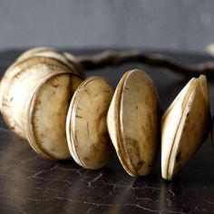 blaxsand, bone necklace
