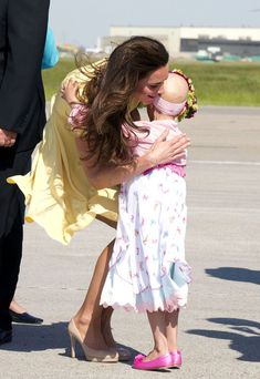 Prince William and Catherine, the Duke and Duchess of Cambridge arrive in Calgary on the eigth day of their Canadian tour.