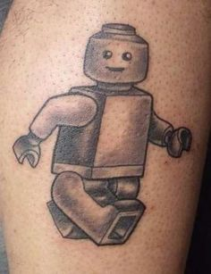 LEGO MAN tattoo - Bub this is for you!