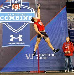 Tim Tebow vertical jump