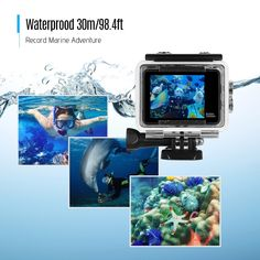 4K Ultra HD WiFi Sports Action Camera Sales Online black - Tomtop