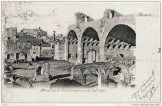Basilica di Massenzio Anno: 1900
