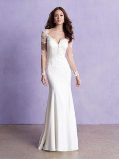 Style: 3359 | Allure Bridals Top Wedding Dresses, Wedding Gowns, Bridesmaid Dresses, Bridal Dresses, Prom Dresses, Allure Romance, Gown Gallery, Bridal Tops, Essense Of Australia