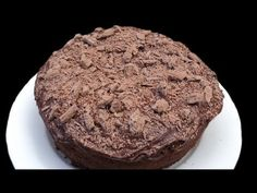 CHOCOLATE LAVA CAKE - huge serving size for those who want to not make individual size.