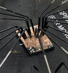 """Here is a look at a USB Chip that isn't getting any power. The process to attempt recovery for this type of issue is called """"Chip Off Recovery"""". For this, we use our tool called the """"Spider Board""""."""