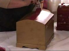 ▶ Mumla eksiktme tekniği Ahşap boyama teknikleri - YouTube