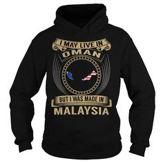 Awesome Tee Live in Oman - Made in Malaysia - Special T-Shirt