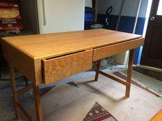 Hand oil rub finish Cherry Desk, Office Desk, Corner Desk, Custom Design, Oil, Furniture, Home Decor, Corner Table, Desk Office