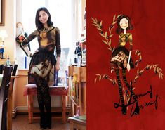 The grace of Renaissance. (by Nancy Zhang) http://lookbook.nu/look/3417101-The-grace-of-Renaissance