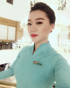Hi Vietnam Airlines! Be nice to me! #vietnamairlines #cabincrew #crewlife by selenatranvn24