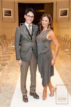 James Krohn and Claudia Ross