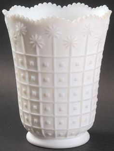 Milk Glass  . . .                           Imperial Glass-Ohio1950-Milkglass (Frosted)